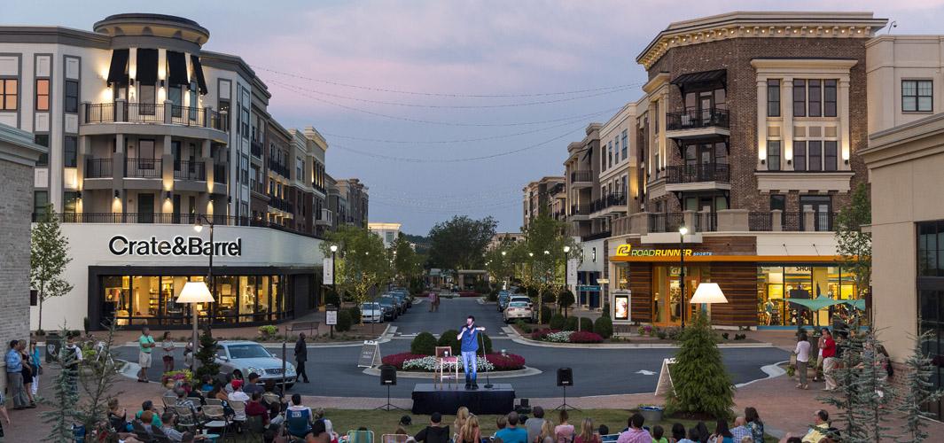 Alpharetta City Streets